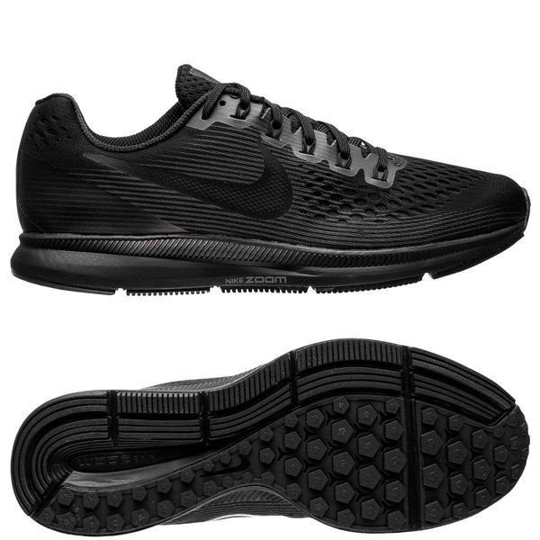timeless design bbb52 8c290 Nike Chaussures de Running Air Zoom Pegasus 34 - Noir Gris Femme 0