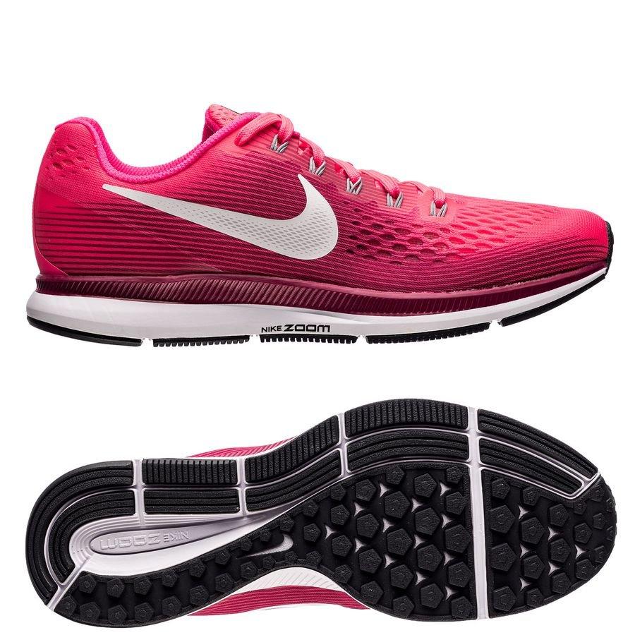 size 40 823ed ed4e0 nike chaussures de running air zoom pegasus 34 - rose gris femme -  chaussures de