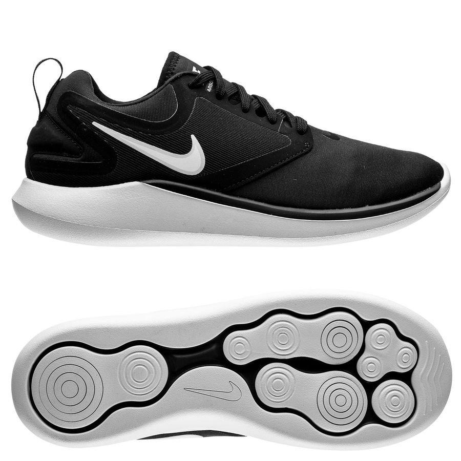 Nike Chaussures De Running Lunarsolo Noir Blanc Gris Femme