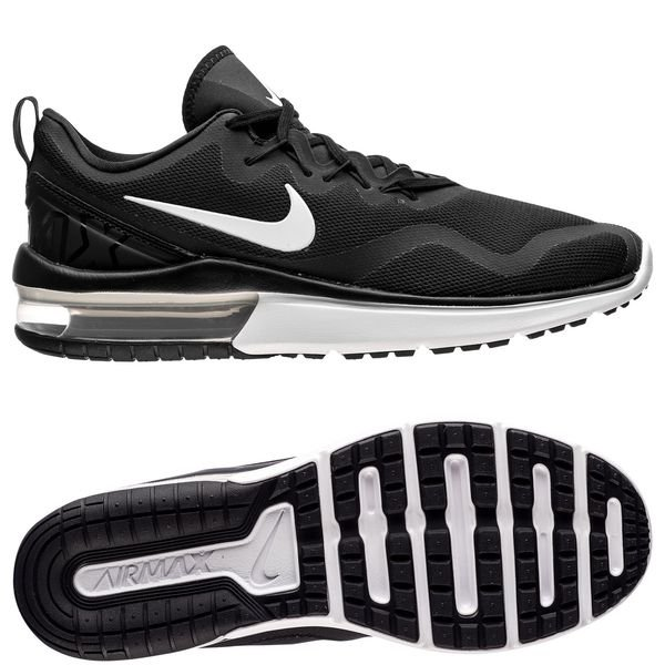 nike laufschuhe air max fury - schwarz/weiß - sneaker
