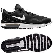 nike løbesko air max fury - sort/hvid - sneakers