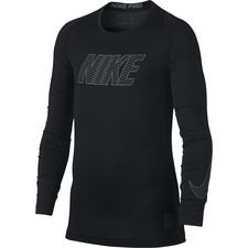 Image of   Nike Pro Compression L/Æ - Sort/Grå Børn