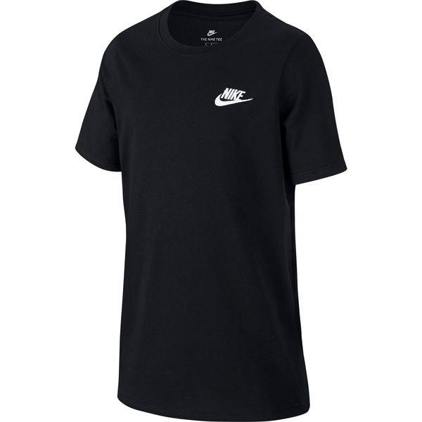 nike t-shirt nsw futura - sort børn - t-shirts