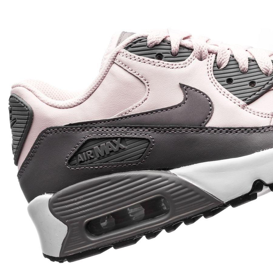 Nye Nike Air Max 90 Lx 2018 Hvite Grå Nyeste Sneakers Dame