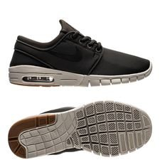 nike stefan janoski max - sequoia/black/brown kids - sneakers