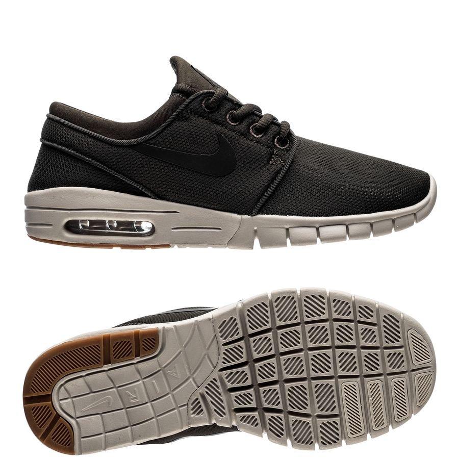 sale retailer c3d8f 16ecf nike stefan janoski max - groenzwartbruin kinderen - sneakers ...