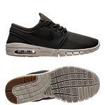 nike stefan janoski max - grøn/sort/brun børn - sneakers