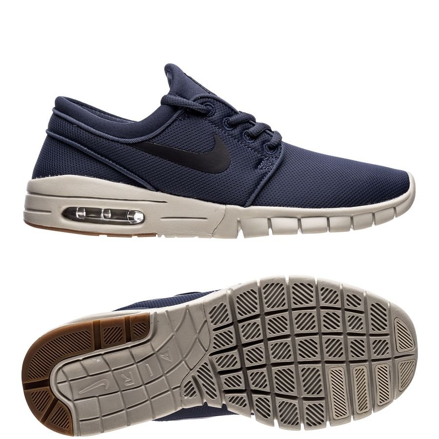87e7986b07fea ... coupon code for nike stefan janoski max blå svart brun barn sneakers  8d5bf b973c