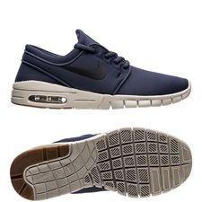 nike stefan janoski max - blau/schwarz/braun kinder - sneaker