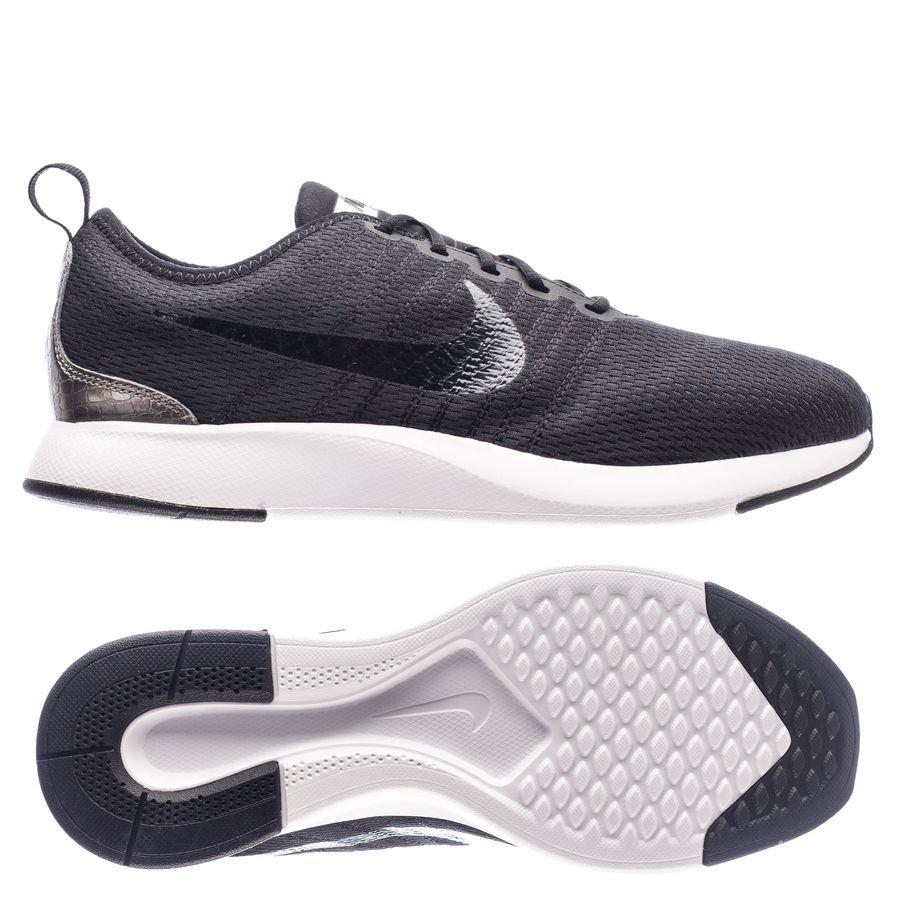 Nike Coureur Double Ton - Enfants Noir / Argent jomutH4