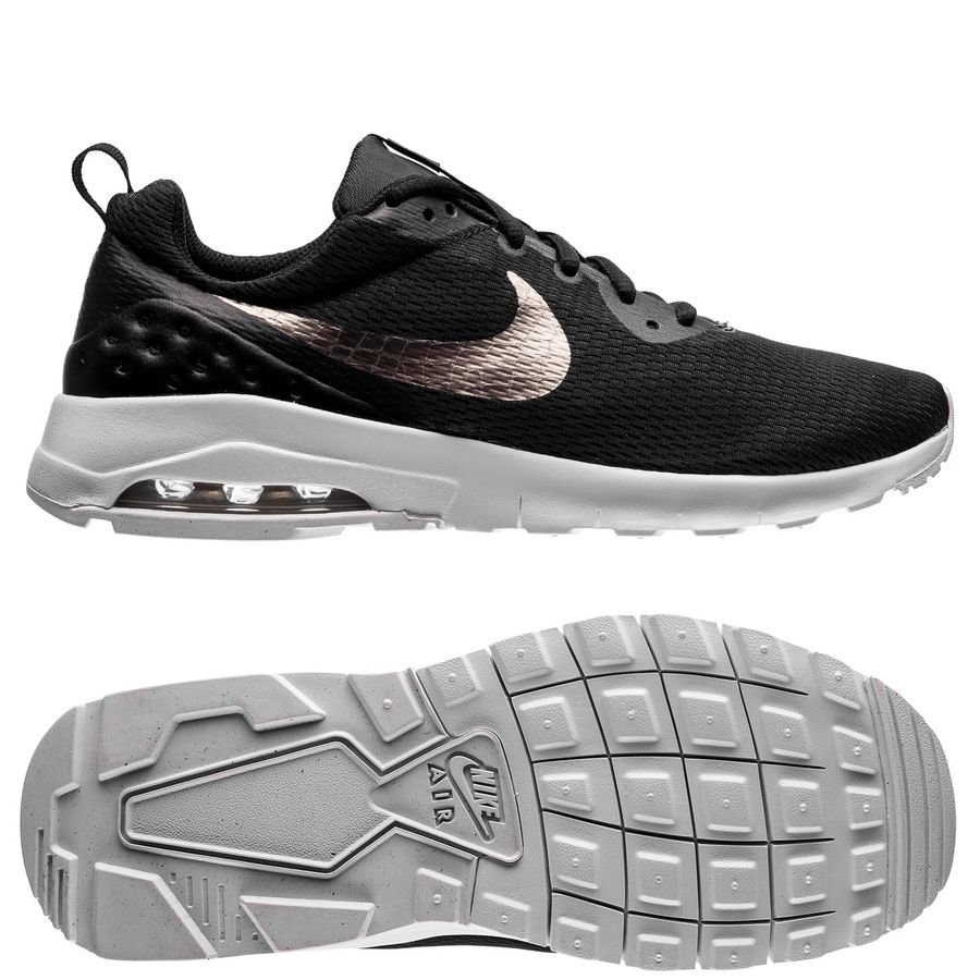nike air max motion lw - noir/argenté/blanc enfant - sneakers