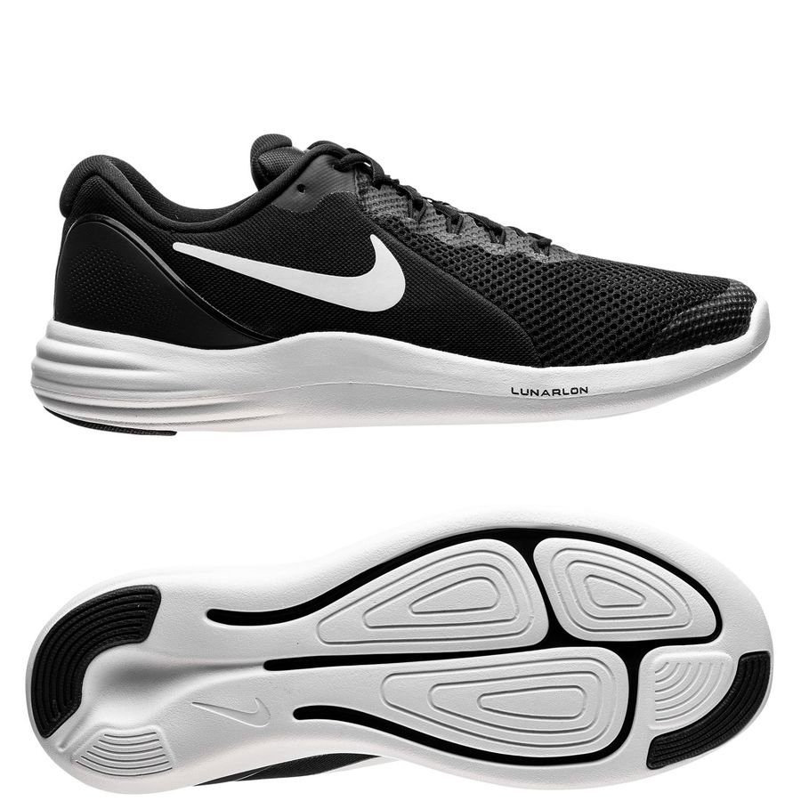 1bdd1d738785 Nike Running Shoe Lunar Apparent - Black White Cool Grey Kids Image