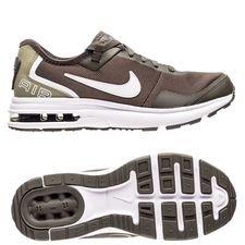 nike air max lb - cargo khaki/white kids - sneakers