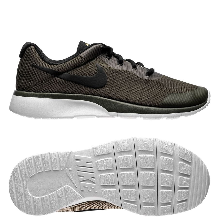 buy popular e0f01 cd8b1 ... clearance nike tanjun racer cargo khaki black light bone kids sneakers  4c07f 7d7f9