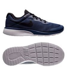 nike tanjun racer - navy/black/cool grey kids - sneakers