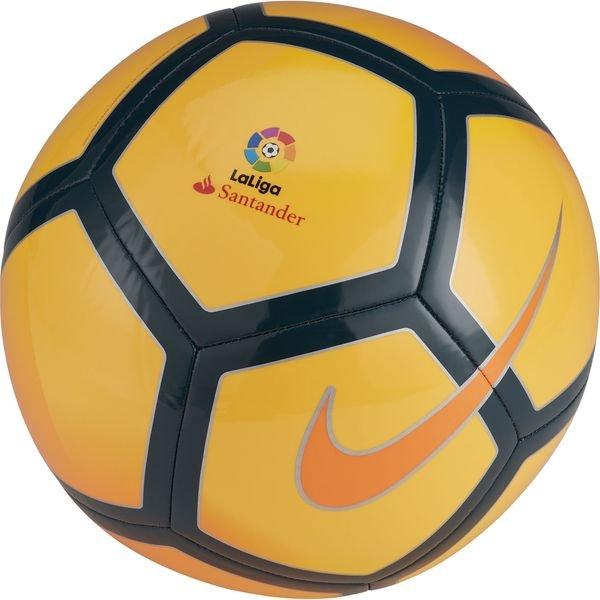nike fodbold pitch la liga - orange/sort - fodbolde