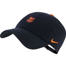 Image of   Barcelona Kasket H86 - Navy/Orange
