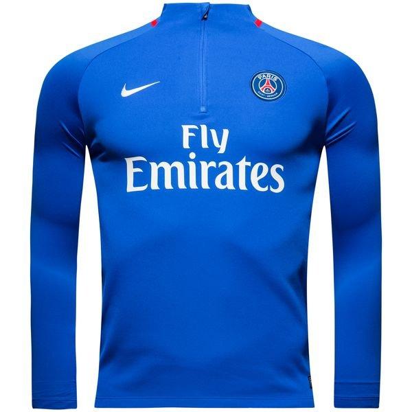 9b3e04ee2a4ca Paris Saint-Germain Maillot d'Entraînement Dry Squad Drill - Bleu/Rouge/