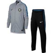 Inter Trainingspak Dry Squad Knit - Grijs/Zwart/Blauw Kinderen