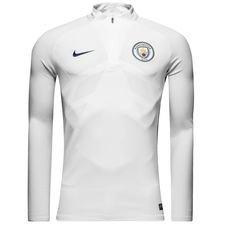 manchester city training shirt aeroswift strike drill - white/pure platinum/midnight navy - training tops
