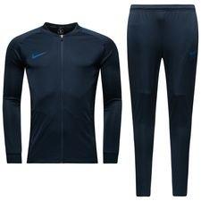 nike træningsdragt dry squad knit - navy/blå - træningsdragt