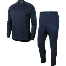 Nike Trainingspak Dry Squad Knit - Navy/Blauw