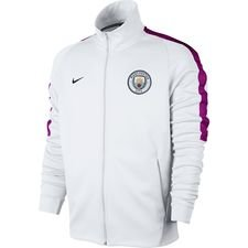 Image of   Manchester City Track Top NSW Authentic - Hvid/Lilla/Navy