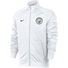 Image of   Manchester City Track Top NSW Crest - Hvid/Navy