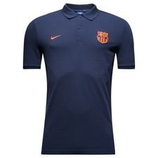 barcelona polo nsw crest - navy/orange - polotrøjer