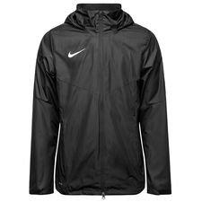 nike rain jacket academy 18 - black/white - rain jackets