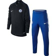 Chelsea Trainingspak Dry Squad Knit - Zwart/Blauw/Wit Kinderen