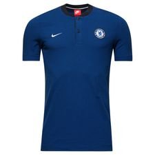 chelsea polo nsw modern authentic - sort/blå/hvid - polotrøjer