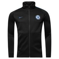 chelsea track top nsw authentic - sort/blå - track tops