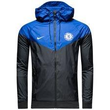 chelsea windrunner woven authentic - black/blue/white - jackets