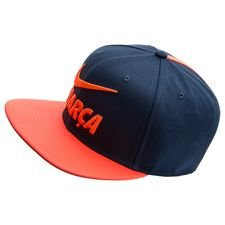 Image of   Barcelona Kasket Pro Pride Snapback - Navy/Orange