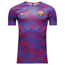 Barcelona Tränings T-Shirt Dry Squad GX - Röd/Blå