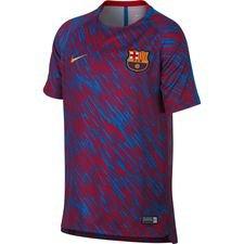 Image of   Barcelona Trænings T-Shirt Dry Squad GX - Rød/Guld Børn