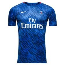 Paris Saint-Germain Tränings T-Shirt Dry Squad GX - Blå/Röd/Vit Barn
