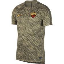 Image of   AS Roma Trænings T-Shirt Dry Squad GX - Grøn/Guld Børn
