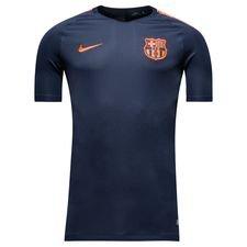Barcelona Tränings T-Shirt Breathe Squad - Navy/Orange