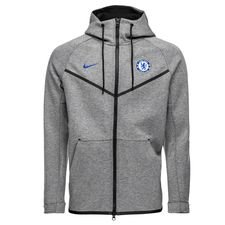 Chelsea Luvtröja NSW Tech Fleece Windrunner - Grå/Blå