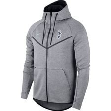tottenham hoodie fz nsw tech fleece windrunner - carbon heather/armory blue - hoodies