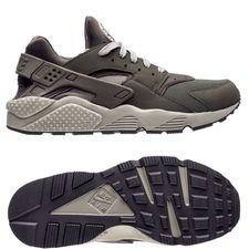 nike air huarache - sequoia/dark stucco/black - sneakers