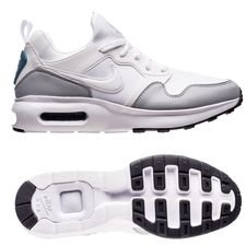 nike air max prime sl - white/blue/wolf grey - sneakers