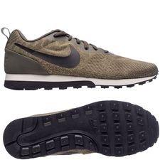 nike md runner 2 mesh - grøn/sort/blå - sneakers