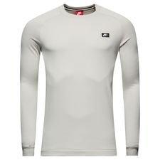 nike sweatshirt nsw modern crew ft - grå - sweatshirts