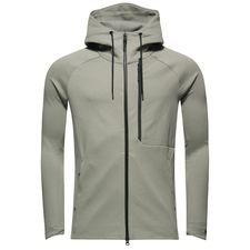 nike jacket nsw tech fleece hd - dark stucco/black - jackets