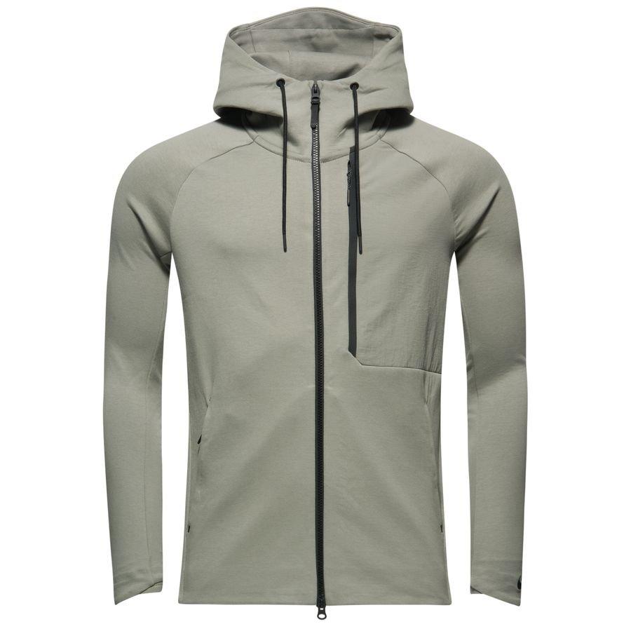 0d19228235f5 Nike Jacke NSW Tech Fleece HD - Grau Schwarz   www.unisportstore.de