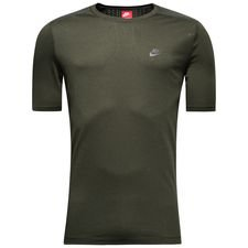 nike t-shirt nsw bnd - sequoia/black - t-shirts