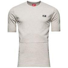 nike t-shirt nsw modern crew - grå - t-shirts